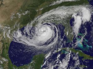 ο τυφώνας Ισαάκ (φωτο NASA)