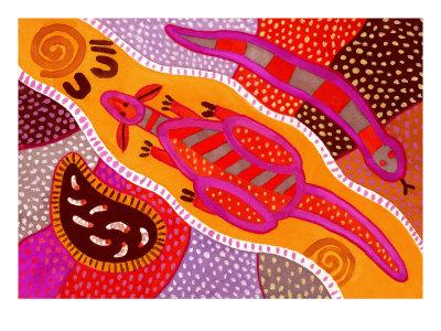ζωγραφική των Αβοριγίνων