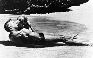 FROM HERE TO ETERNITY - Burt Lancaster, Deborra Kerr