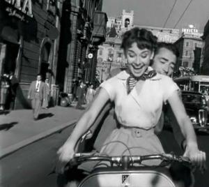 ROMAN HOLIDAY- Audrey Hepborn-Gregory Peck