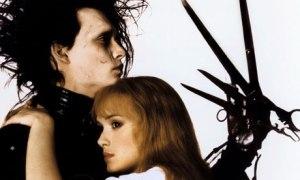 EDWARD SCISSORHANDS  Jonny Depp- Winona Ryder