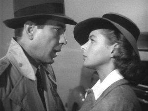 CASABLANCA- Humphrey Bogard, Ingrid Bergman